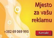 Mjesto ZA VAŠU Reklamu Podgorica