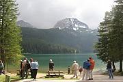 Черное озеро в Жабляке Zabljak