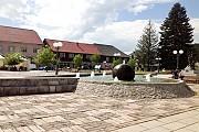 Центральная площадь в Колашине Kolasin