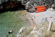 Пляж Дикий пляж Dobra Voda