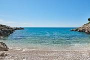 Пляж Галечный Dobra Voda